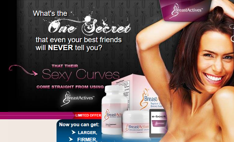 Breast Actives Breast Enhancement System